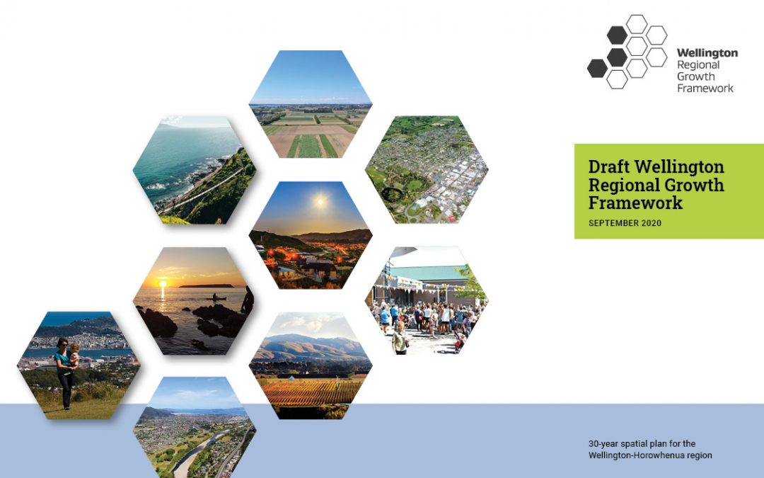 Wellington Regional Growth Framework signals joined up planning for Wellington Region-Horowhenua area